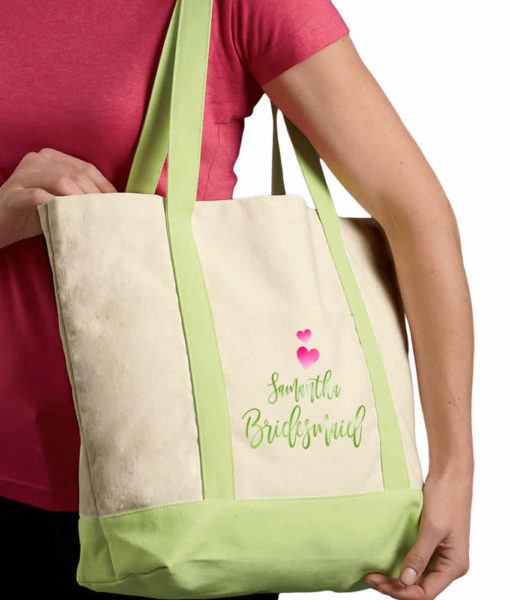tote side view