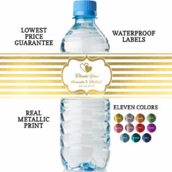 water bottles for wedding guests