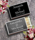 matchbox wedding favors