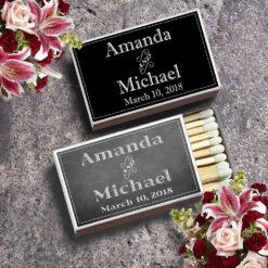 matchbox wedding favors