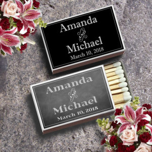 Custom Matchboxes Wedding Match Boxes