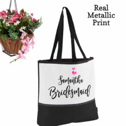 bridesmaid totes personalized
