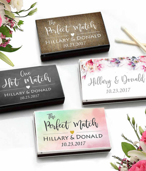 cheap personalized matchboxes
