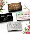 wedding favor matches