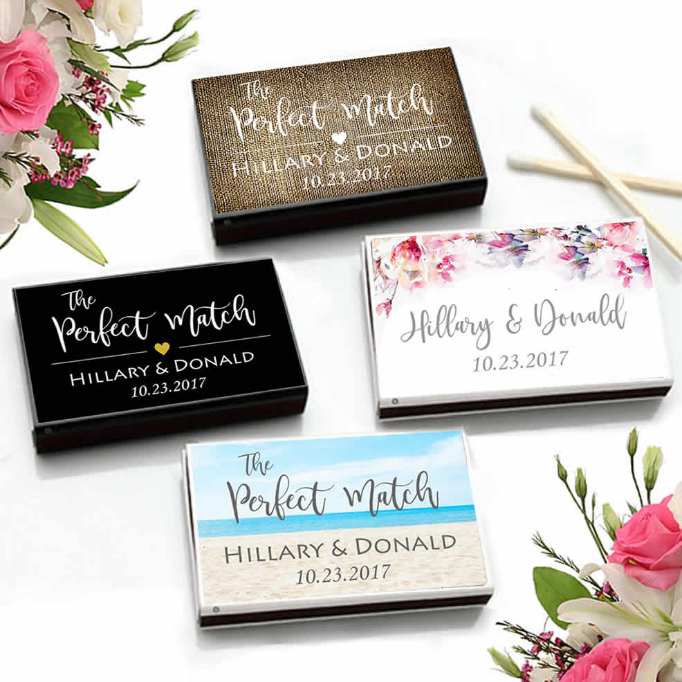 Wedding Matches Cheap, LOWEST Price Custom MatchBoxes, Personalized ...