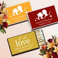 autumn wedding favors