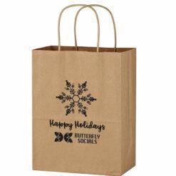 Kraft Paper Brown Shopping Bag