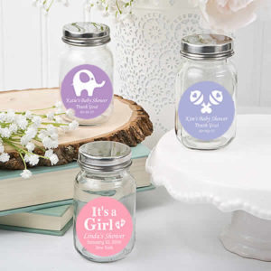 personalised baby shower favors