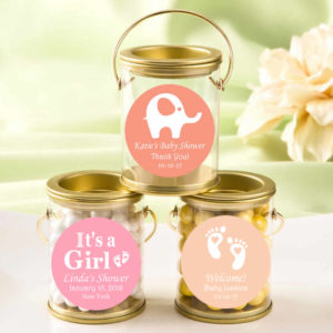creative baby shower favors