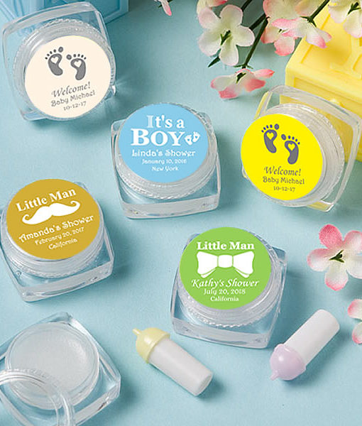 f0e26ee63fe7f Unique Baby Boy Shower Favors, Lip Balms – FREE Assembly