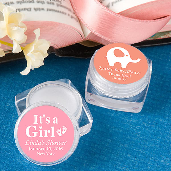 Best Baby Shower Party Favors: Baby Girl Baby Shower Favors, Lip Balms