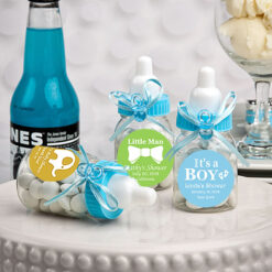 baby bottle favors for baby shower