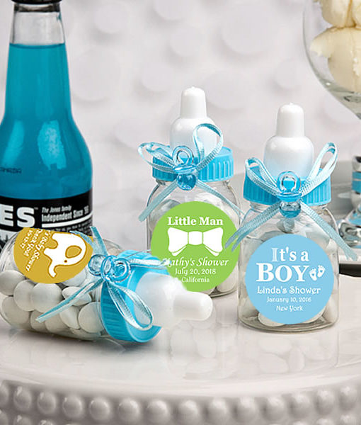 baby bottle favors for baby shower