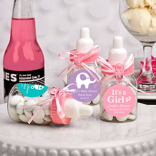 Best Baby Shower Party Favors: Baby Bottle Party Favors Personalized Mini Baby Bottle
