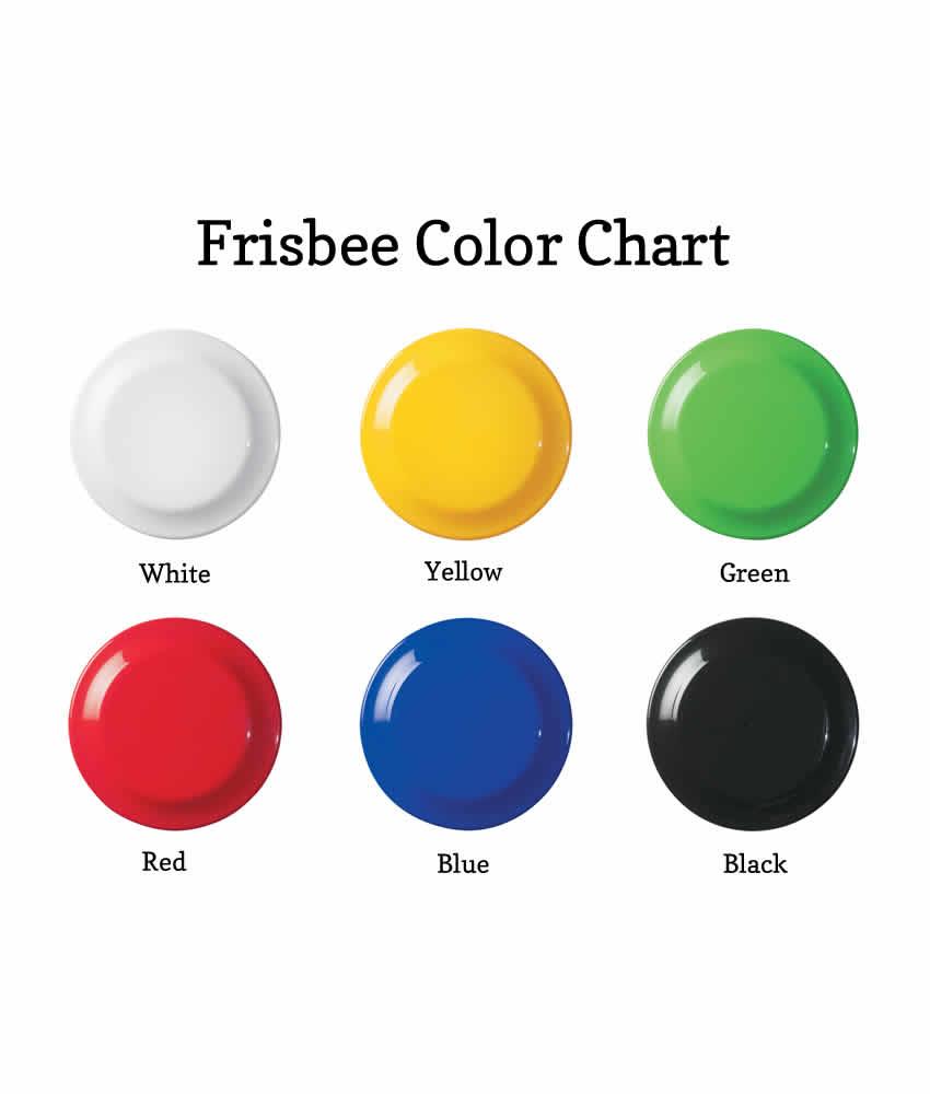 "Wedding Frisbee Custom Printed 10"" Frisbee"