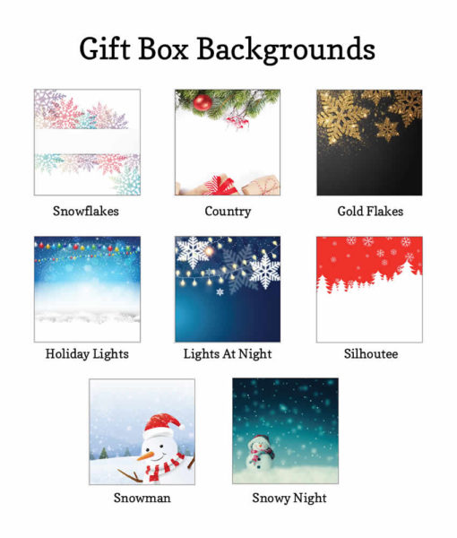 giftbox holiday backgrounds