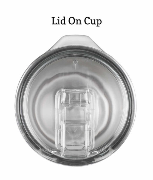 lid on cup
