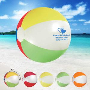 Wedding beach balls