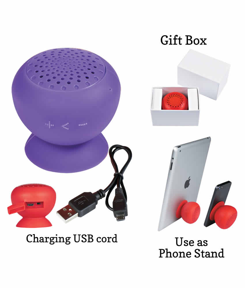 Useful Wedding Favors Silicone Speaker And Phone Stand