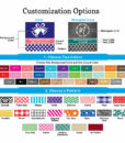 Hand Sanitizer customization options