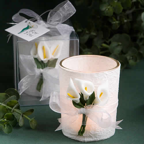 Winter wedding decoration ideas calla lily candle favors free winter wedding decoration ideas junglespirit Choice Image