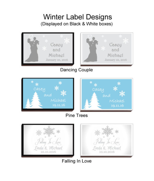 Winter Match Box design chart 1