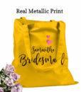 personalised bridesmaid bags