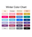 winter label color options