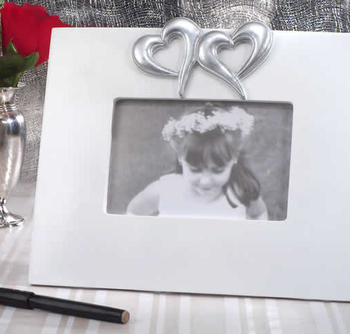 Two Hearts Beat As One Signature Frame - BestPriceFavors.com