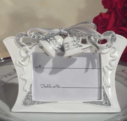 Wedding Bells Photo Frame Holds 2 X 3 Photo Bestpricefavors