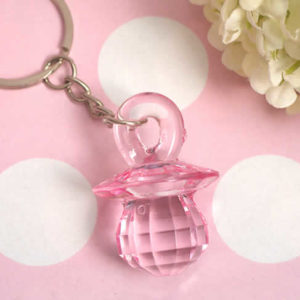 pink pacifier favors