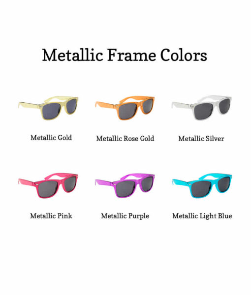 metallic frame color options