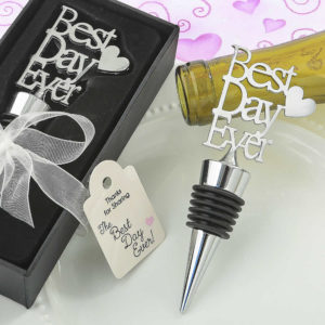 best day ever wedding favors