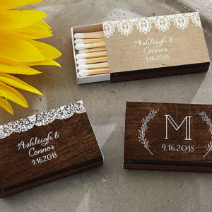 rustic party favors