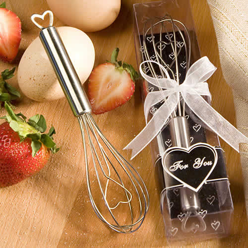 heart whisk favors