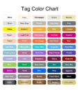 tag color options