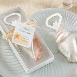 seashell bottle opener