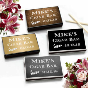 wedding cigar bar ideas