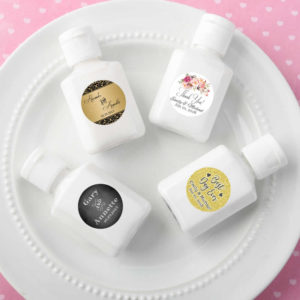 mini hand lotion favors