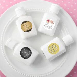 mini hand lotion favors