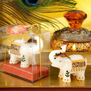 good luck elephant candle holder