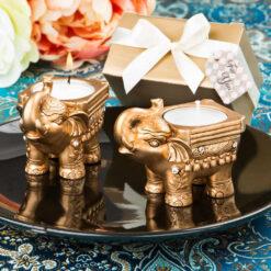 elephant candle holder