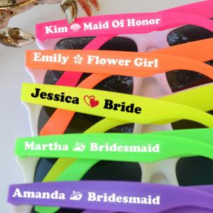 Bridal party sunglasses cheap