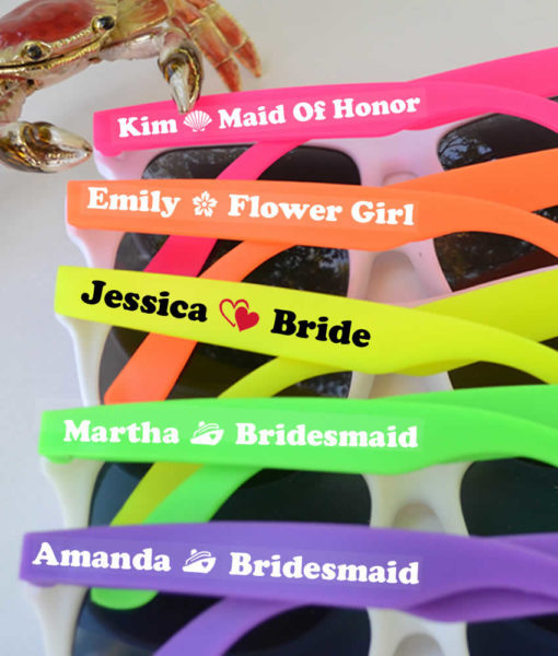 Bridal party sunglasses cheap