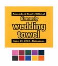 wedding rally towels