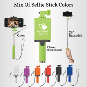 wedding selfie stick