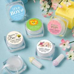 baby shower lip balms