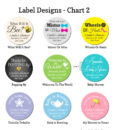 label design chart 2 baby shower