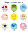 water bottle design chart 4 baby shower