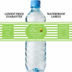 water bottle labels - mommy to bee